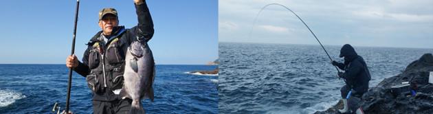 釣り客写真